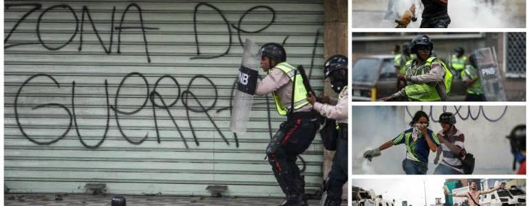 20 muertos dejan protestas y saqueos en Venezuela