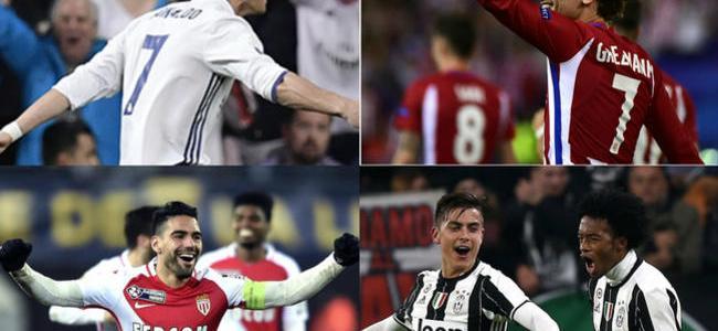 Así quedaron definidas las llaves de las semifinales de Champions League