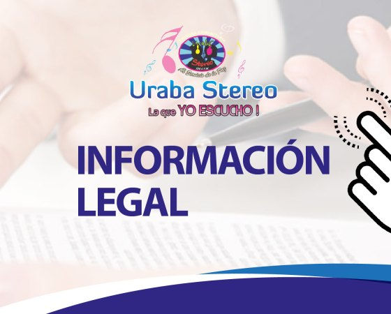Información Legal Urabá Stereo
