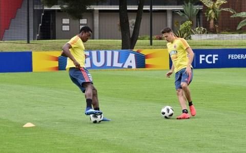 En Colombia ya se encuentran 17 jugadores de la Selección