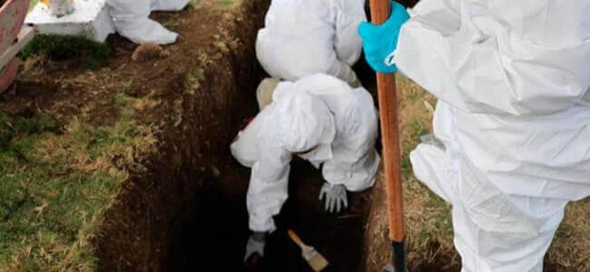 JEP entrega cuerpo de primer identificado en fosa de Dabeiba, Antioquia