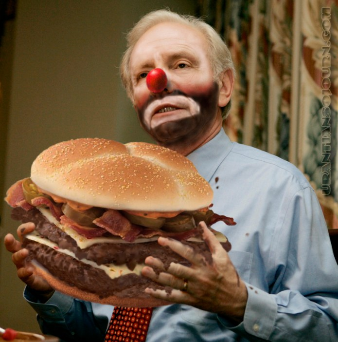 Scatology Week: lieberman burger