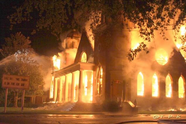 Church Of Fiery Peril