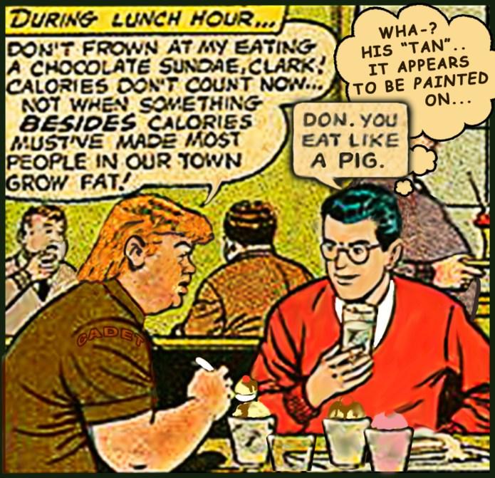 Teen Trump & Clark Kent