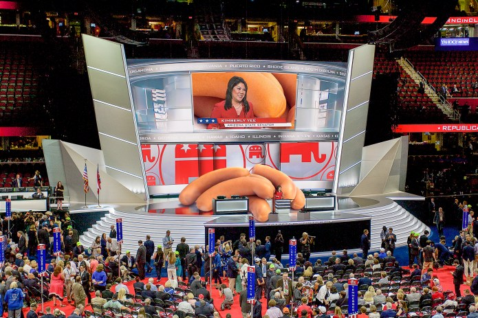 GOP CONVENTION HOT DOG RECALL