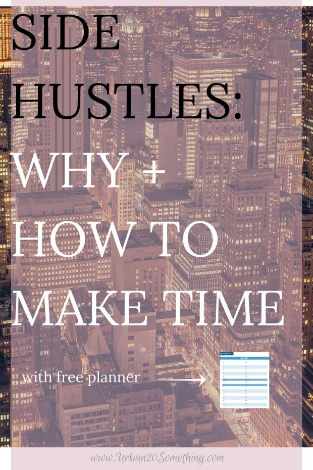 Even if you LOVE your job, you should have a side hustle. It allows you to explore your variety of interests, it helps you learn more about yourself and your passions, and you can earn extra money from it! Win win! The trouble? Making time for it! Click through to read how to make time for your side hustle with my planner specifically made for us side hustlers! Yours free.