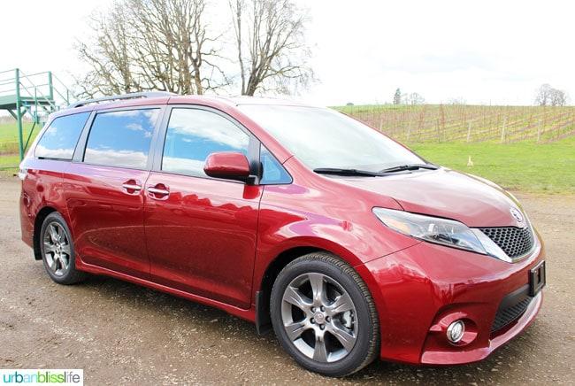 Drive Bliss: Toyota Sienna