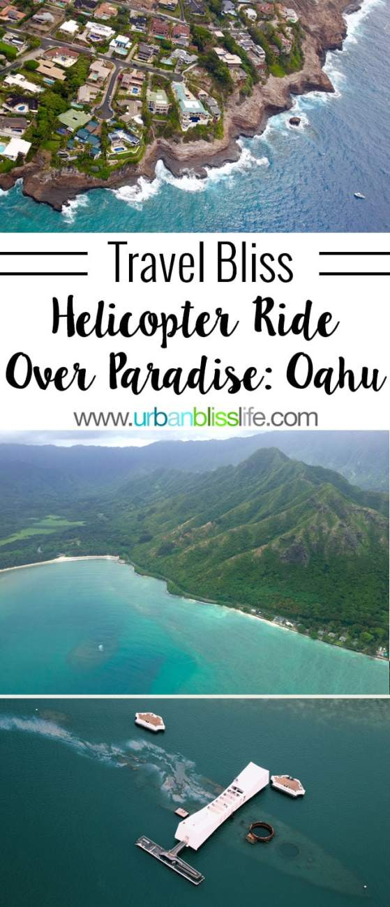 Travel Bliss: Helicopter Ride Over Oahu, Hawaii