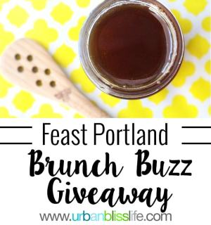 National Honey Board Feast Portland Brunch Buzz Giveaway on UrbanBlissLife.com