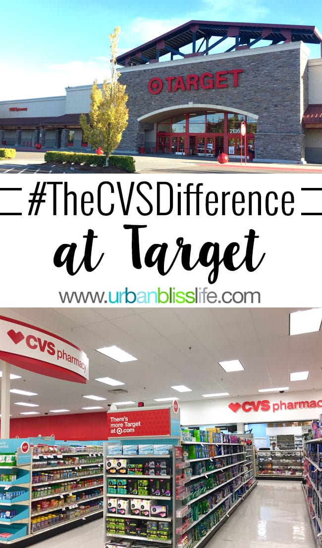 #TheCVSDifference at Target