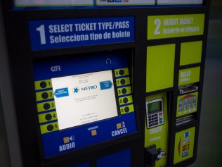 Metro Ticketing Machine