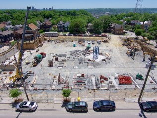The Verge construction in Clifton Heights [Travis Estell]