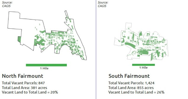 North and South Fairmount Vacant Properties [Provided]