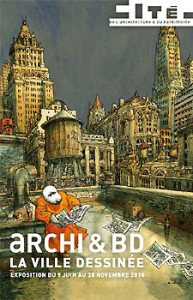 Archi BD la ville dessine 193x300 Architecture et BD: New York, Paris et Tokyo au bout du crayon