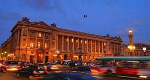 L'hôtel de la Marine, place de la Concorde à Paris