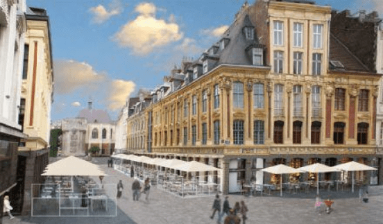 lille Harmonisation des terrasses de caf lilloises