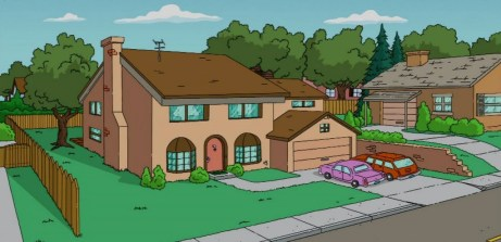 The Simpsons House Springfield, une ville unique