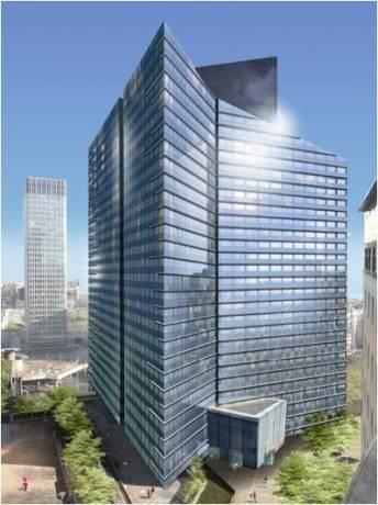 Le bâtiment, construit en 1984, sera entièrement rénové afin de répondre aux exigences environnementales les plus élevées.