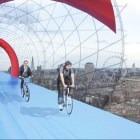 Cycle Sky : une piste cyclable arienne  londres ?  