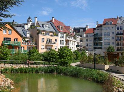 Le projet intègre la une rivière sur un kilomètre de long.