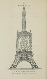  En 1890, une Tour Eiffel  Londres