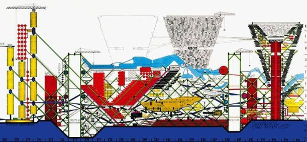 Plug-in City, par Archigram