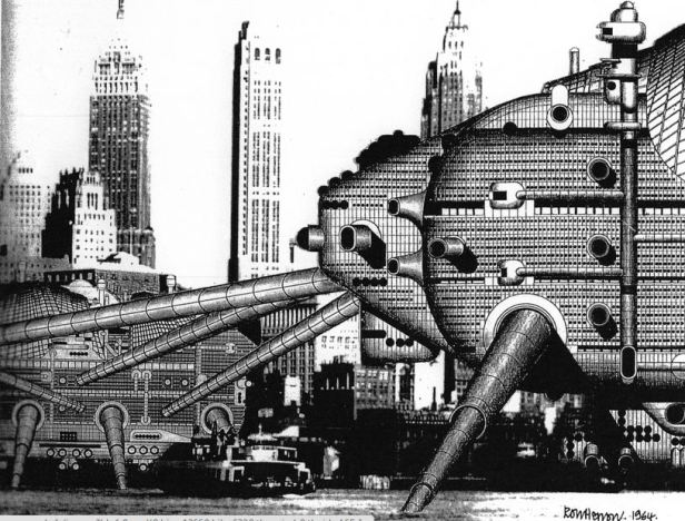 Walking City, par Archigram