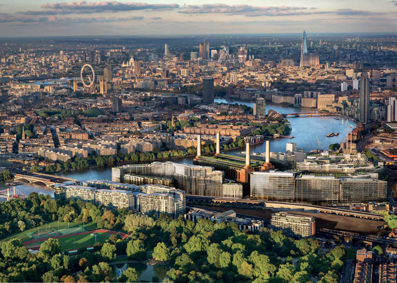 Frank Gehry et Norman Foster pour la Battersea Power Station à Londres