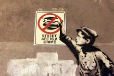 Banksy Better Out Than In à New York