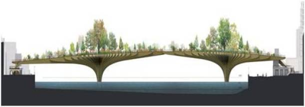 Garden Bridge - London - Thomas Heatherwick