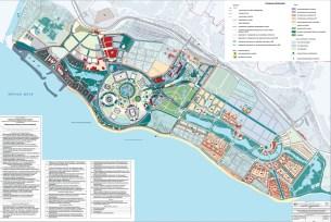Plan du Parc Olympique - Sotchi