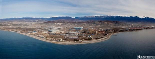 Sotchi : un gigantesque chantier pour 36 milliard d'euros