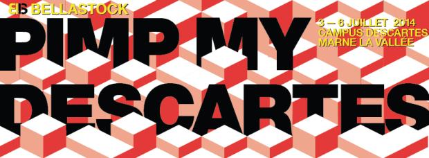 Affiche officielle de l'événement Pimp My Descartes. Crédit photo : Bellastock