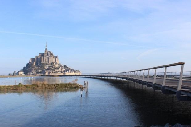 La nouveau Pont-Passerelle du Mont-Saint-Michel ©  Mathias Neveling