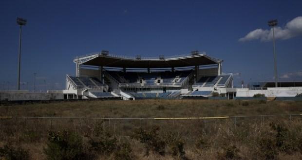 Le stade de softball du complexe d'Hellenikon - REUTERS/Yannis Behrakis
