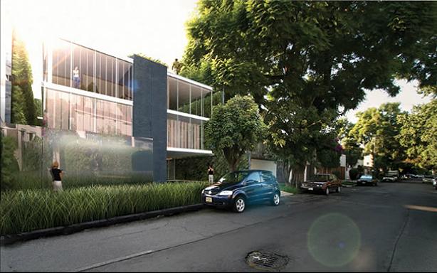 Vertical Garden Apartments Outside In Urban Gardens