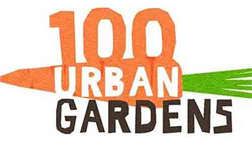 100-urban-gardens