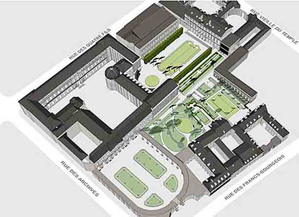 paris-archives-nationales-gardens-map-plan