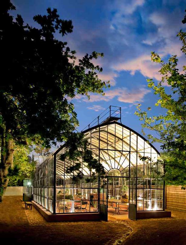 Babylonstoren-greenhouse-dusk