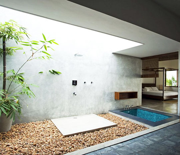 Enter the urban gardens pinterest contest to win a mr for Indoor outdoor bathroom design ideas