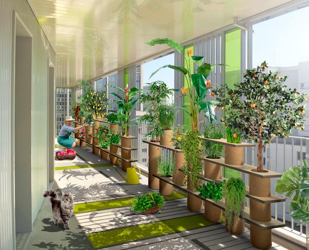 Végétagère Modular Container Gardening System By Frédéric Malphettes Stunning Container Garden Design Property