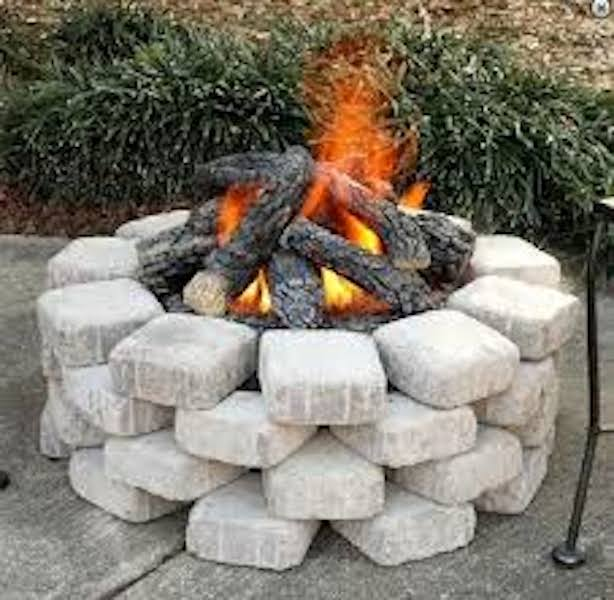 Reflection fire pit kit from Amazon.com