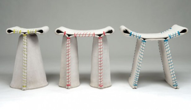 indoor-outdoor-Stitched-Concrete-Stools-by-Florian-Schmid