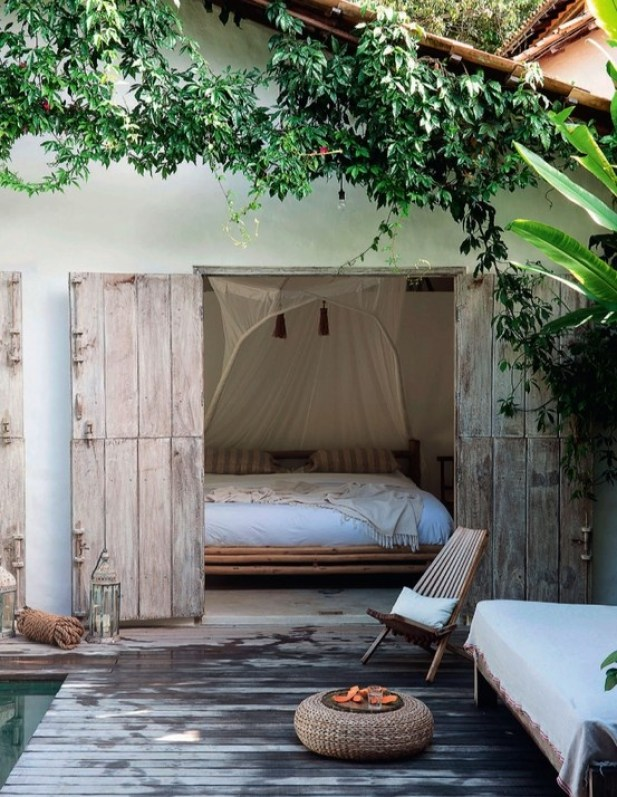 French By Design Outdoor Sleeping Area