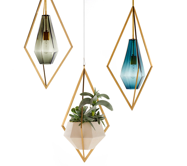 Hanging Light With Planter: Designer Farrah Sit's Hanging Gardens
