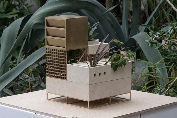 Plantscape Modular Urban Planters