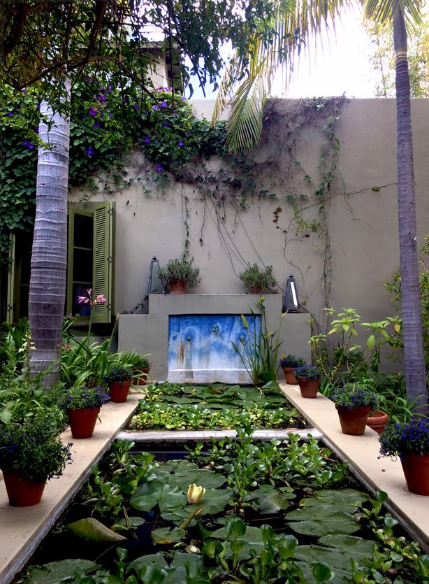 A los angeles landscape designer 39 s moroccan style urban for Virtual garden design