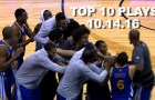 Top 10 NBA Plays: October 14th
