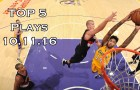 Top 5 NBA Plays: October 11th