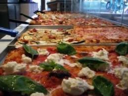 Pizza alla teglia a Trastevere